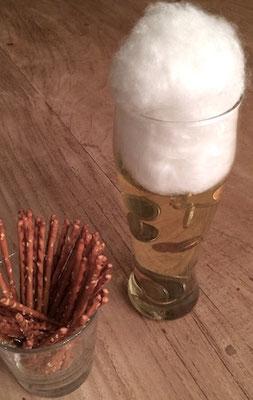 Edles Geldgeschenk, garantiert alkoholfreies Bier mit Münzen für Jugendliche und Erwachsene