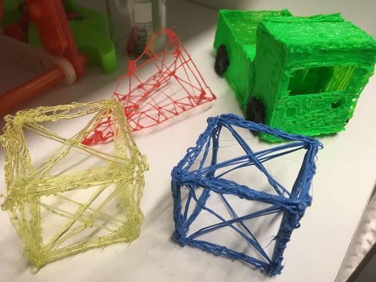3D gedruckte Modelle