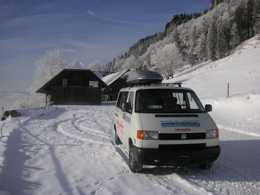 Ja wir denken schon an den Winter und die Schneeschuhtouren Jura