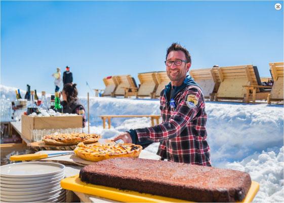 Fein essen skihütte gr