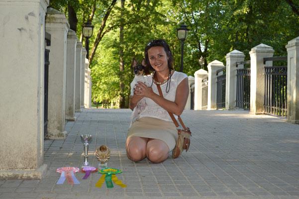 """Той-фокстерьеры питомника """"Terra Baltika"""" на выставках"""