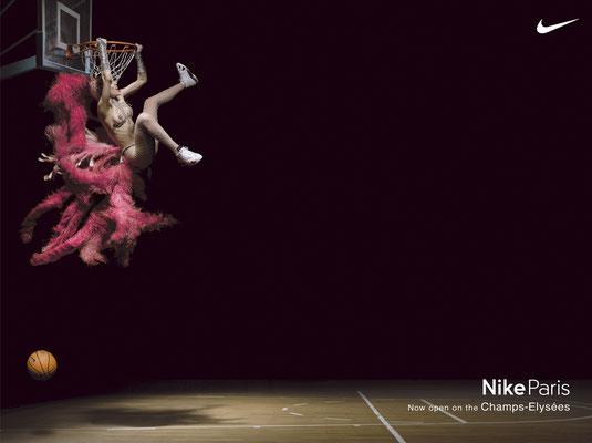 NIKE for NINA - Nina Burri - Basketball Campagne NIKE
