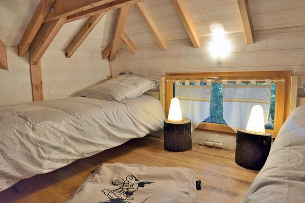 La cabane haut charmes en Dordogne, un gîte pour 4 au cœur du Périgord Noir © Michel Blot, Photographe