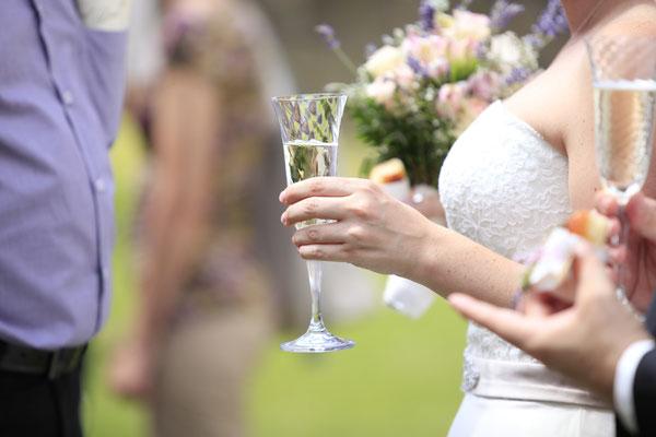Sektempfang Hochzeit