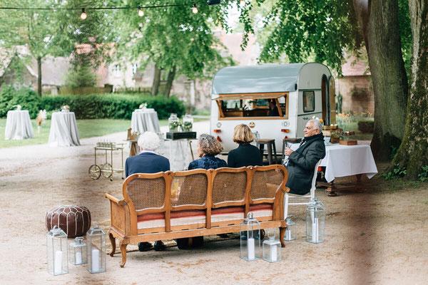 Sektempfang Vintage Lounge