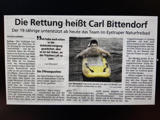 Kreiszeitung 01. August 2019