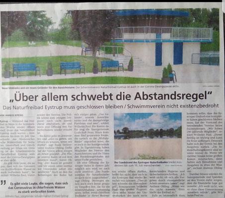Kreiszeitung 11. Juni 2020