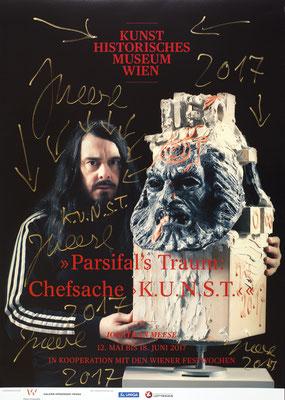 Jonathan Meese Poster Plakat Kunsthistorisches Museum Wien