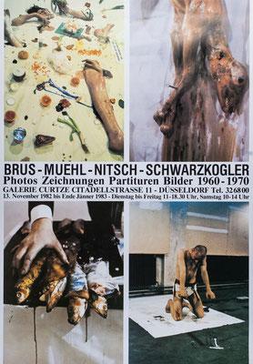 Rudolf Schwarzkogler Poster Plakat Aktionisten