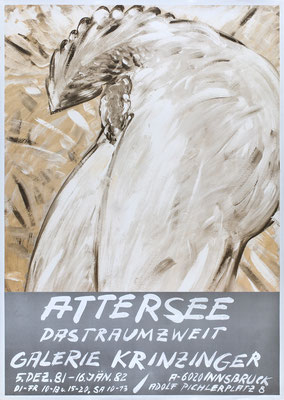 Christian Ludwig Attersee Poster Plakat
