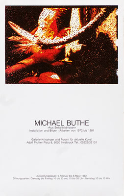 Michael Buthe Poster Plakat
