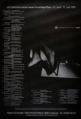 Zur Definition eines neuen Kunstbegriffes Poster Plakat