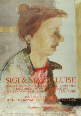 Siegfried Anzinger Plakat Poster