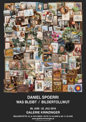 Daniel Spoerri Poster Plakat