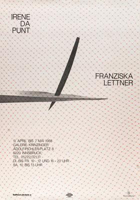 Irene Dapunt Poster Plakat
