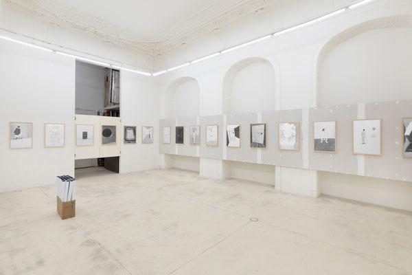 Werner Reiterer Ausstellung / exhibition (Foto: Tamara Rametsteiner / Galerie Krinzinger 2019)