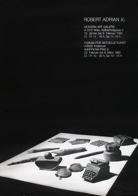 Poster Robert Adrian X. Plakat