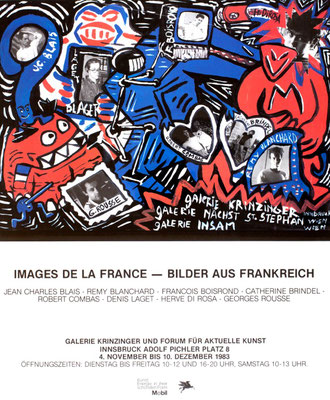 Images de la France Poster Plakat