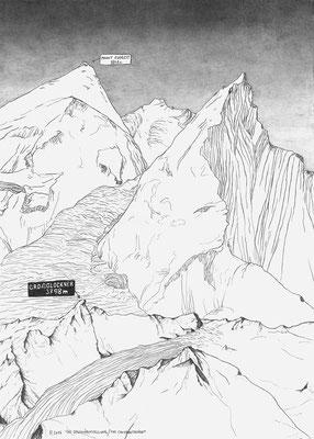 Vergleich Mount Everest und Grossglockner (Foto: Werner Reiterer / Krinzinger 2019)