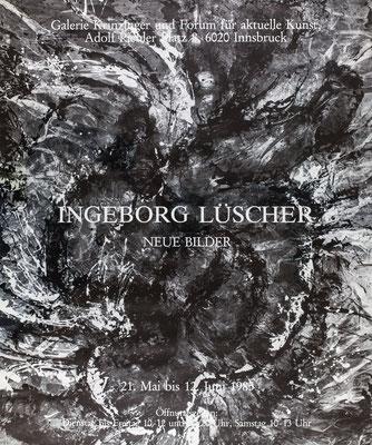 Ingeborg Lüscher Plakat Poster