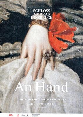 Angelika Krinzinger Poster Plakat An Hand