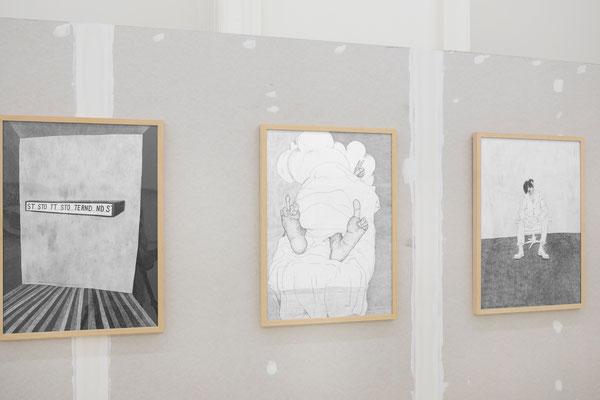 Galerie Krinzinger: Werner Reiterer Ausstellung / exhibition (Foto: Tamara Rametsteiner / Galerie Krinzinger 2019)