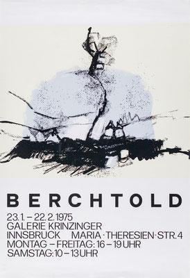 Berchtold Poster Plakat Winterlandschaft