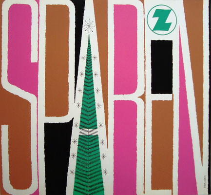 Zentralsparkasse der Gemeinde Wien Plakat Poster im Shop