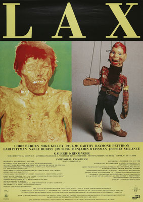 Paul McCarthy and Mike Kelley Poster Plakat 1992
