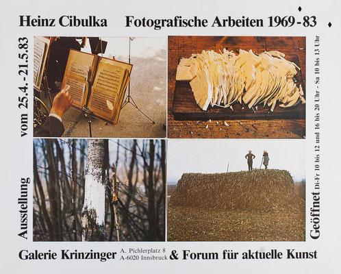 Heinz Cibulka Plakat Poster