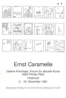 Ernst Caramelle Poster Plakat