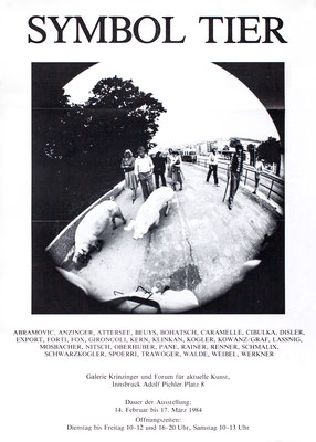 Symbol Tier in der Kunst Poster / Plakat
