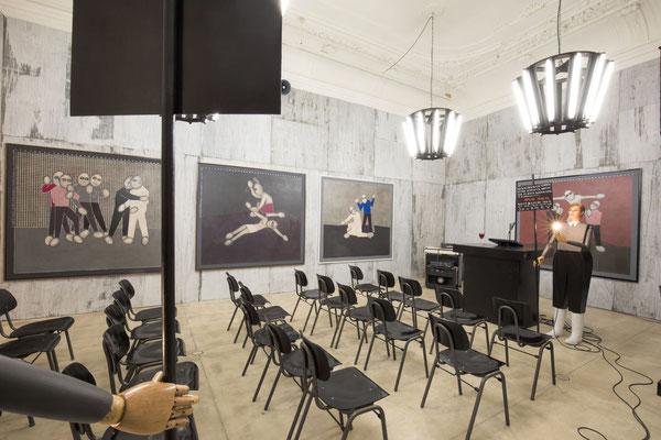 Thomas Zipp Kunst Ausstellung in Wien