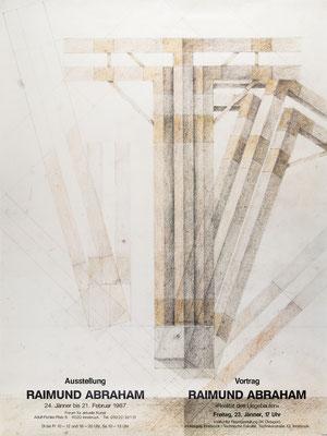 Raimund Abraham Poster Plakat