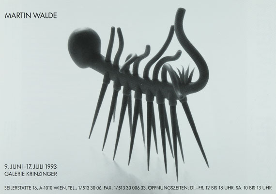 Martin Walde Plakat Poster im Shop