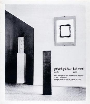 Herbert Prantl Plakat Poster 1970er Jahre