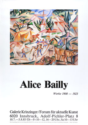 Alice Bailly Poster Plakat