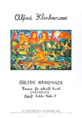 Alfred Klinkan Poster Plakat