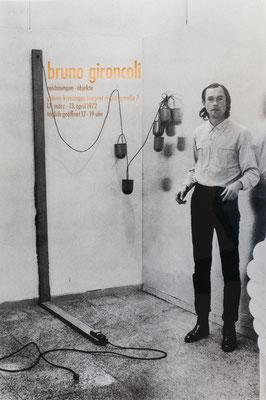 Bruno Gironcoli Poster Plakat
