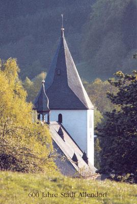 Postkarte: 600 Jahre Stadt Allendorf