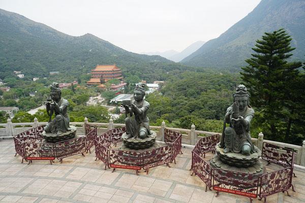 Statuen der Boddhavista
