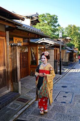Geisha im Gion-Viertel