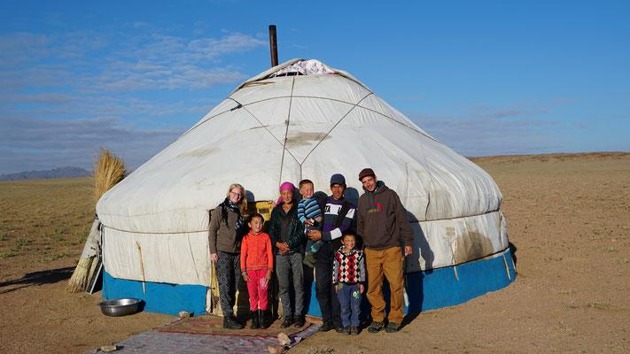 Die Kasachische Gastfamilie