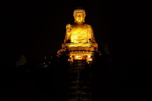 Budda am Abend