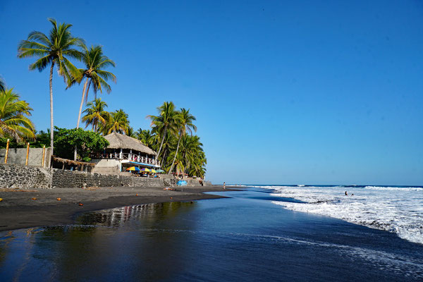 Strand von El Zonte