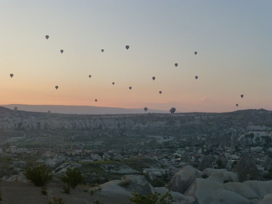 Hot Air Ballons over Göreme