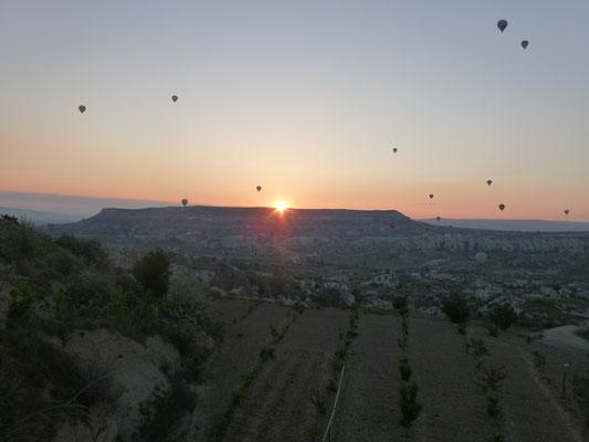 Hot Air Ballons over Göreme
