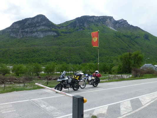 Grenzübergang nach Montenegro