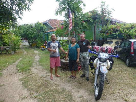 Apa Kaba Guesthouse, Kenny und Linda