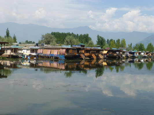 Houseboat at Dal Lake, Srinagar